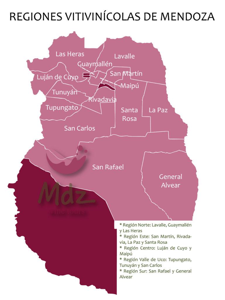 ,dz wine tours regiones vitivinicolas